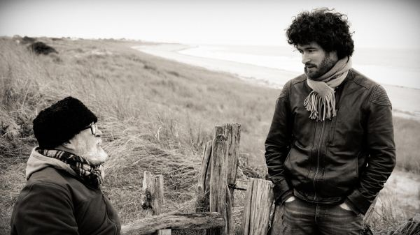 Michael & Simon McDonnell at Plage de Anneville, photo by Arnaud Bringer-Casanova