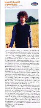 BRAVOS Trad' Magazine pour Simon McDonnell & Spring Barley